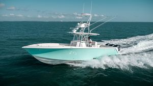 Used Seavee 370z Saltwater Fishing Boat For Sale