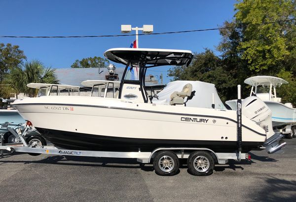 Used Century 2301 CC2301 CC Center Console Fishing Boat For Sale
