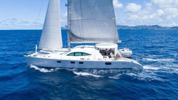 Used Dixon Serenity 72 Catamaran Sailboat For Sale