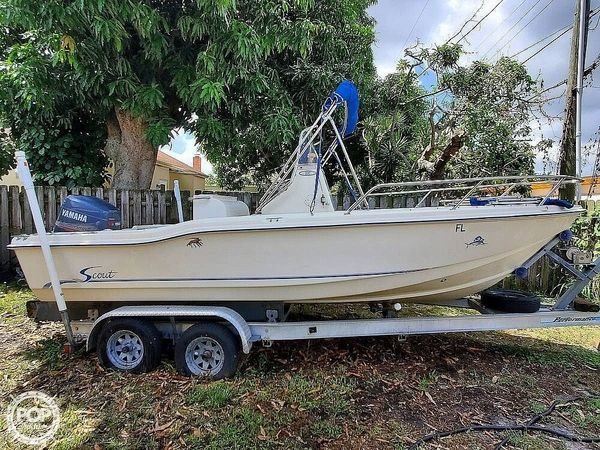 Used Scout Sportfish 202 Center Console Fishing Boat For Sale