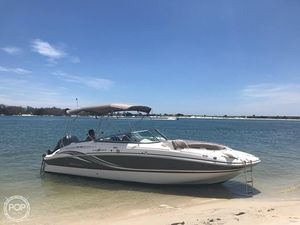 Used Hurricane 2400 Deck Boat For Sale