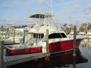 Used Billy Holton Custom Carolina Sports Fishing Boat For Sale