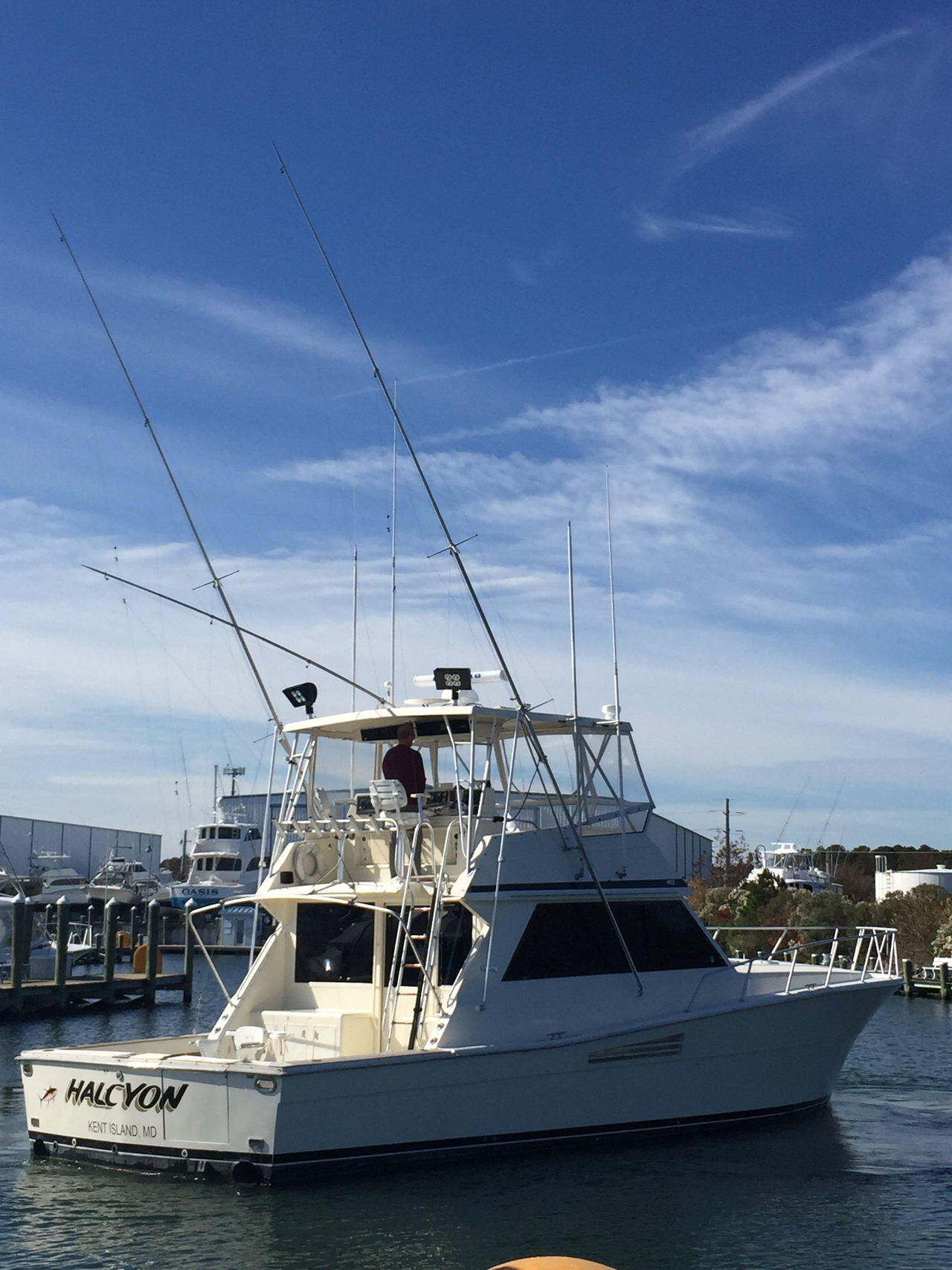 1989 Used Viking Yachts 48 Convertible Fishing Boat For