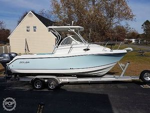 Used Polar 2300 Walkaround Fishing Boat For Sale
