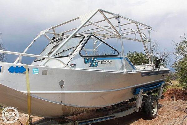 Used Wooldridge Alaskan XL Aluminum Fishing Boat For Sale