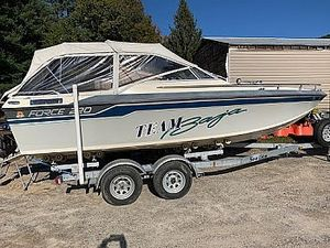 Used Baja 220 Force Walkaround Fishing Boat For Sale