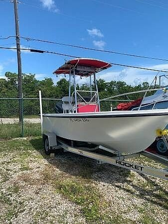 1986 Used Mako 171 Center Console Fishing Boat For Sale