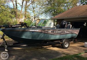 Used Lowe 175 Pro WT Aluminum Fishing Boat For Sale