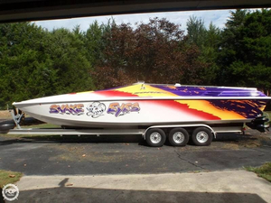 Used Sonic STS 386 High Performance Boat For Sale
