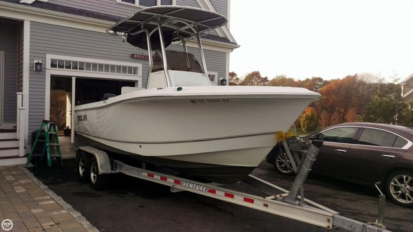 Used Polar 2100 CC Center Console Fishing Boat For Sale