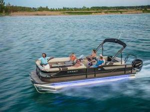 Used Crest Classic 250 SLSClassic 250 SLS Pontoon Boat For Sale
