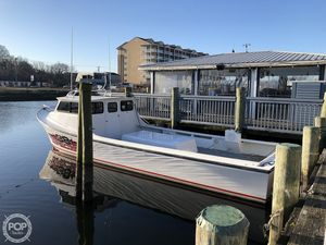 Used Evans Boats 38 Custom Deadrise Downeast Fishing Boat For Sale