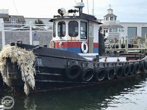 Used Diesel Shipbuilding 44 Tug Boat For Sale