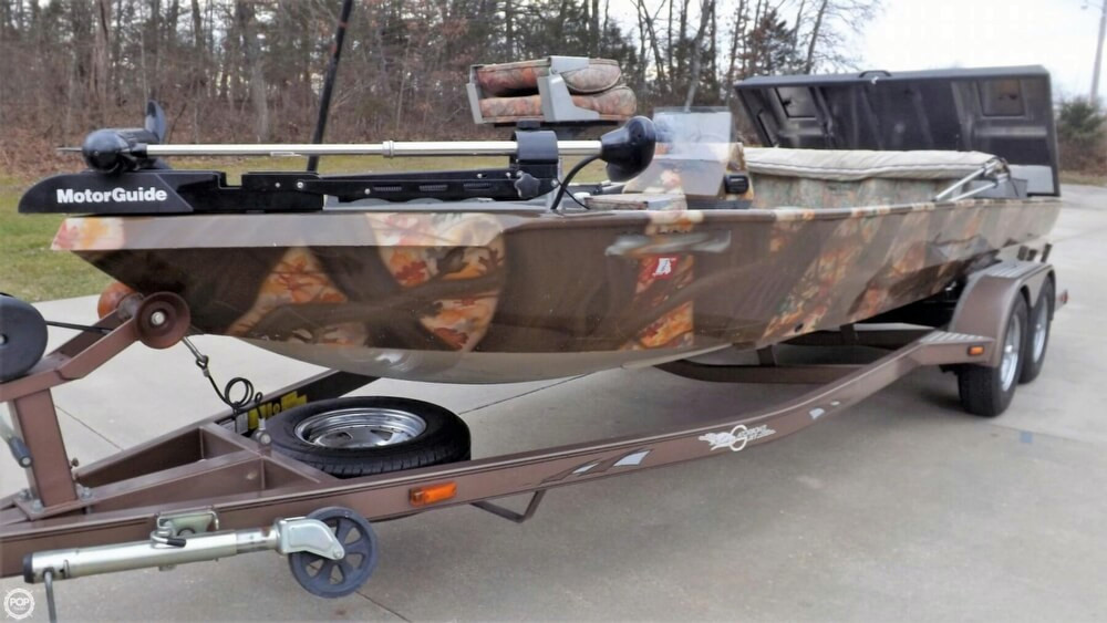 2006 used gator boats fish n sport bass boat for sale for Bass fishing boats for sale