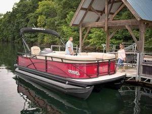 Used Regency 210 DL3210 DL3 Pontoon Boat For Sale