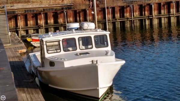 Used Mitchell Cove 32 Lobster Fishing Boat For Sale