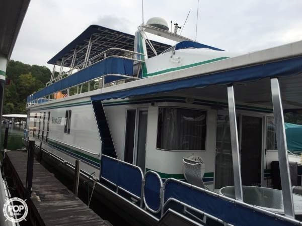 Used Sharpe 16 X 81 Widebody House Boat For Sale