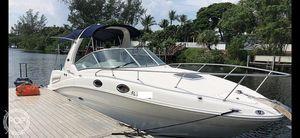 Used Sea Ray Sundancer 260 Express Cruiser Boat For Sale