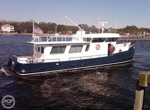 Used Cleveland Boat Works 52 Trawler Boat For Sale