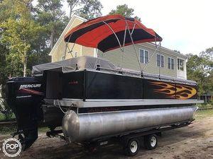 Used Evolution 22 Pontoon Boat For Sale