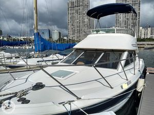Used Bayliner 288 Discovery Flybridge Sports Fishing Boat For Sale