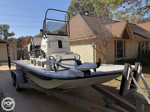 Used Shallow Stalker Cat 204 Pro Flats Fishing Boat For Sale