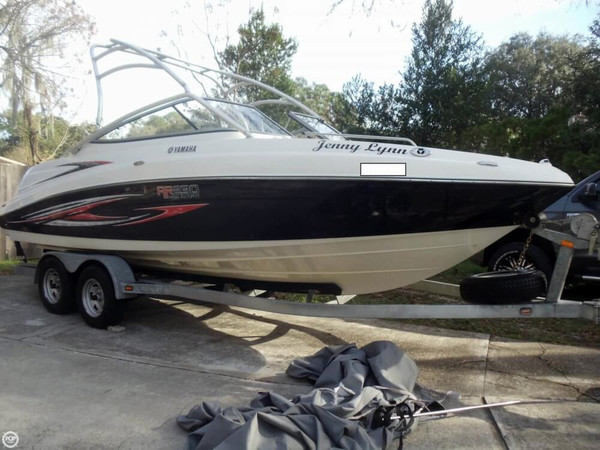 Used Yamaha AR230 HO Ski and Wakeboard Boat For Sale