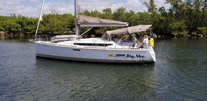 Used Jeanneau 379 Cruiser Sailboat For Sale