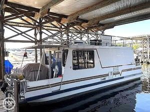 Used Catamaran Cruisers 35 Vagabond House Boat For Sale