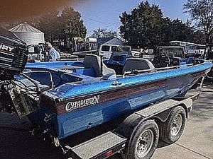 Used Champion 190 Fish Hunter Elite Bass Boat For Sale