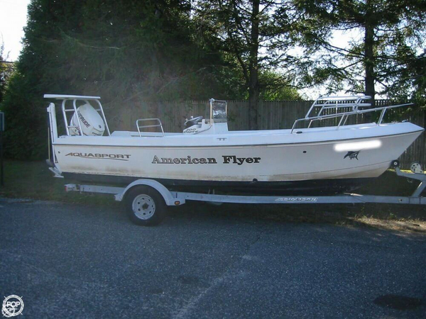 Used Aquasport 200 Osprey Bay Boat For Sale