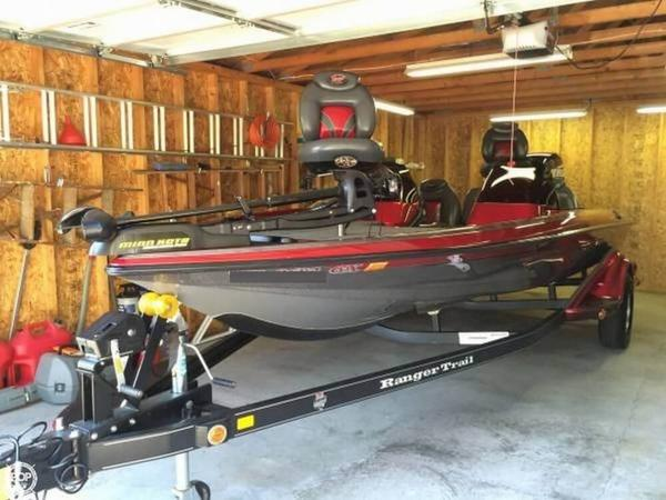 Used Ranger Boats 519VX Comanche Tour Edition Bass Boat For Sale