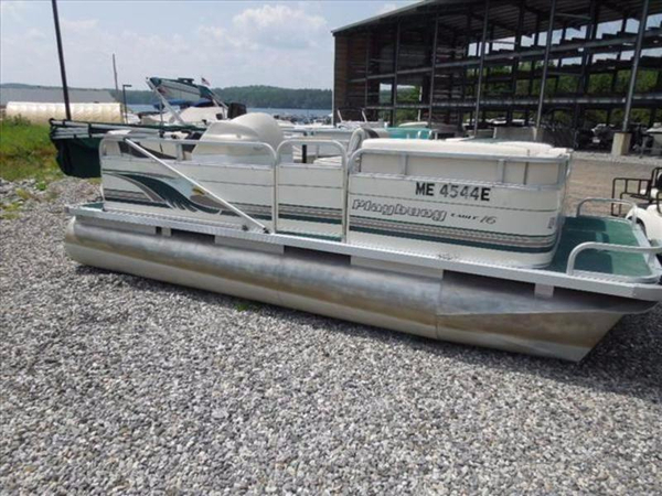 Used Playbuoy 16 Pontoon Boat For Sale