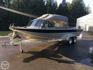 Used North River Commander 24 Aluminum Fishing Boat For Sale