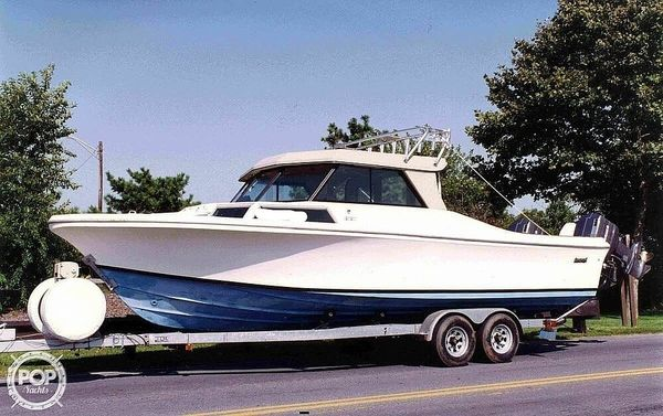 Used Sportcraft 270 Sea Eagle Sports Fishing Boat For Sale