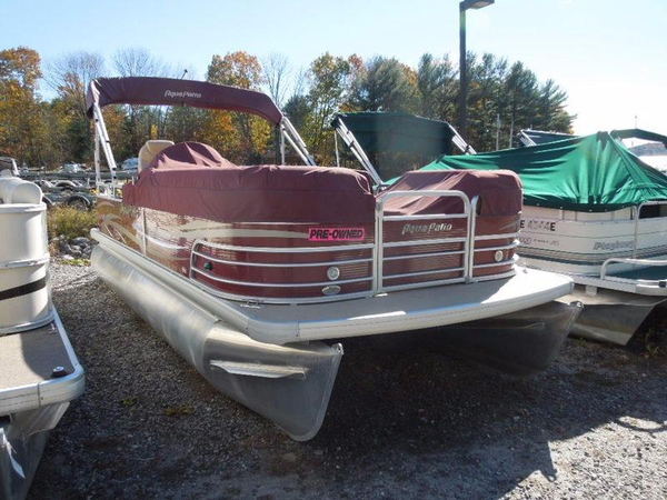 Used Aqua Patio 220 RE Pontoon Boat For Sale