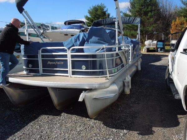 Used Aqua Patio AP 250 WB Pontoon Boat For Sale