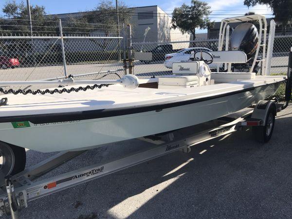 Used Maverick Mirage 18 HPX-VMirage 18 HPX-V Flats Fishing Boat For Sale