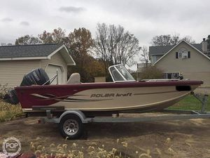 Used Polar Kraft V169 FS Aluminum Fishing Boat For Sale