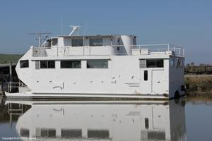 Used Custom Built House Boat For Sale