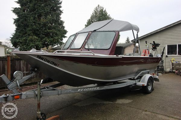 Used Duckworth 19 Advantage Aluminum Fishing Boat For Sale