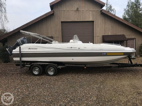 Used Hurricane 231 Sundeck Sport Deck Boat For Sale
