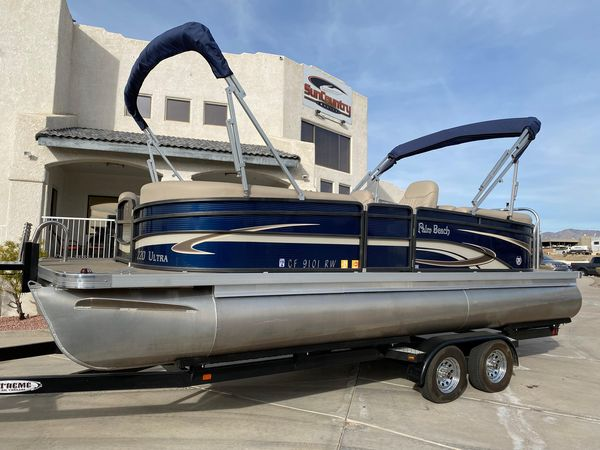 Used Palm Beach Ultra 220Ultra 220 Pontoon Boat For Sale