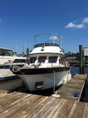 Used Marin Yachts 38 DC Trawler Boat For Sale