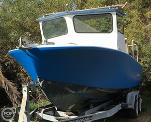 Used Custom Fishing Boat Pilothouse Boat For Sale