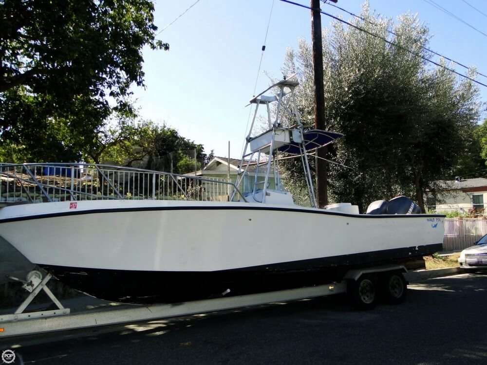 1982 used mako 254 center console fishing boat for sale for Used fishing boats for sale in california