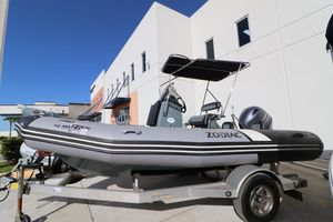 New Zodiac Pro Open 550Pro Open 550 Rigid Sports Inflatable Boat For Sale
