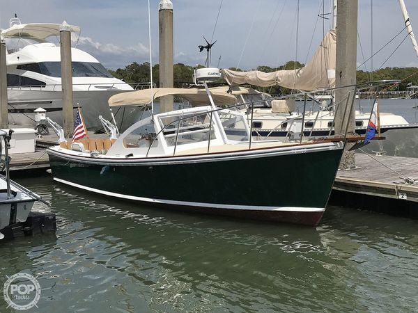 Used Dyer 29 Flush Deck Walkaround Fishing Boat For Sale