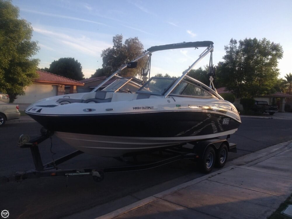 Used Yamaha 212 X High Output Jet Boat For Sale