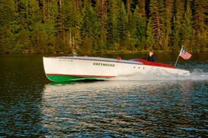 Used Custom Yandt Boats Gentleman's Racer Runabout Boat For Sale